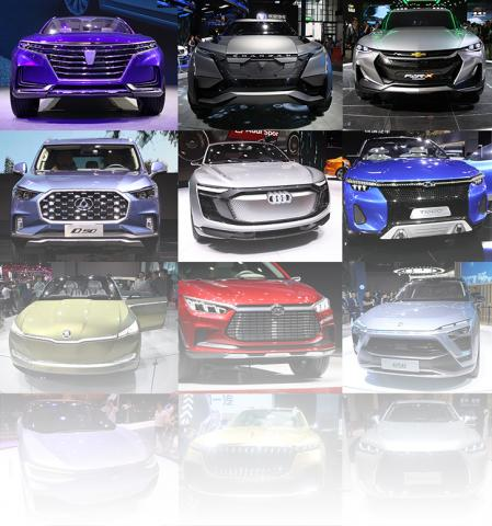 From 19 to 28 April 2017 in National Exhibition and Convention Center (Shanghai) (NECC) held an international motor show. After reviewing most of the exposure, and this is extremely difficult given the complex area of 400,000 square meters​​​​​​​ and its 4-story section for the observing which will require an average of about 6-7 hours; it was decided to organize the materials and to answer the question: what exist today.